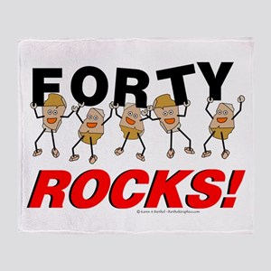 Forty Rocks Throw Blanket