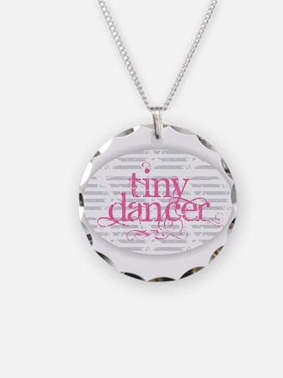 Tiny Dancer - Pink Necklace