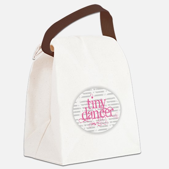 Tiny Dancer - Pink Canvas Lunch Bag