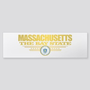 Massachusetts Pride Bumper Sticker