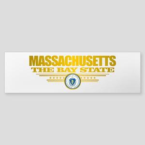 Massachusetts Pride Bumper Sticker