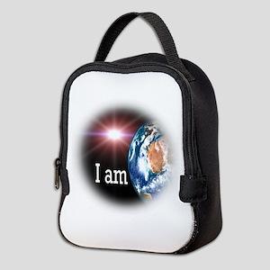 I AM Neoprene Lunch Bag