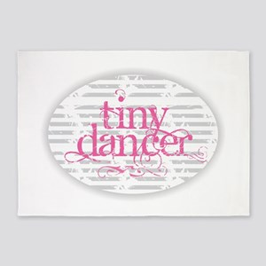 Tiny Dancer - Pink 5'x7'Area Rug
