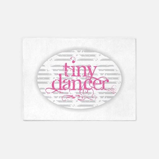 Tiny Dancer - Pink 5'x7'Area Rug