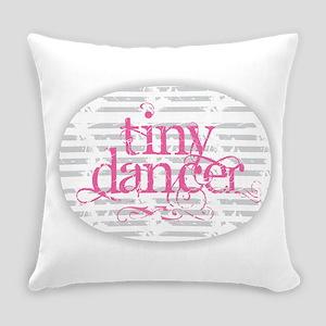 Tiny Dancer - Pink Everyday Pillow