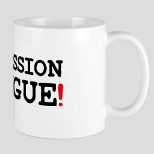 COMPASSION FATIGUE! Small Mug