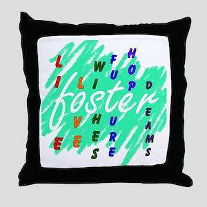foster... Throw Pillow