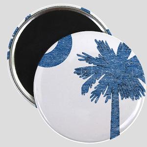 Vintage South Carolina Flag Magnet