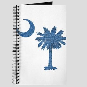 Vintage South Carolina Flag Journal