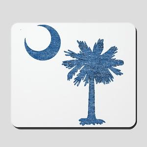 Vintage South Carolina Flag Mousepad