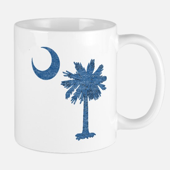 Vintage South Carolina Flag Mug