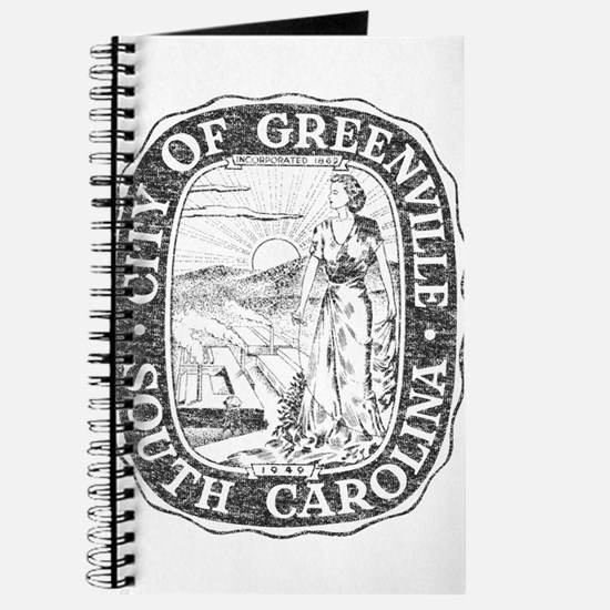 Faded Greenville South Carolina Journal