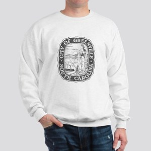 Faded Greenville South Carolina Sweatshirt
