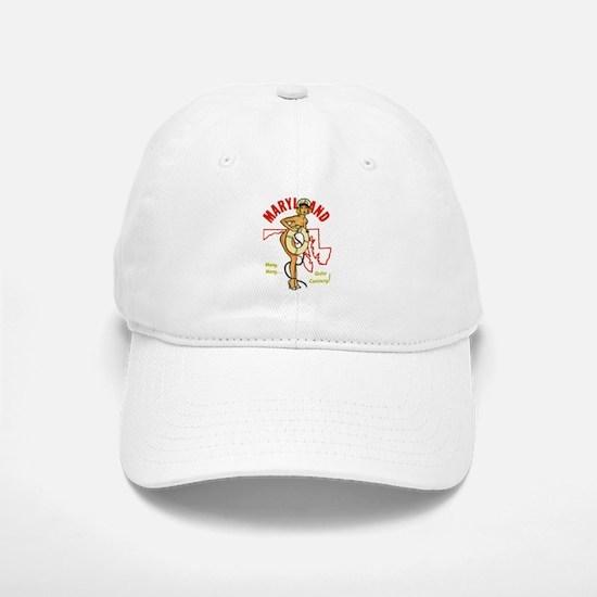 Vintage Maryland Pinup Baseball Baseball Cap