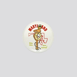Vintage Maryland Pinup Mini Button