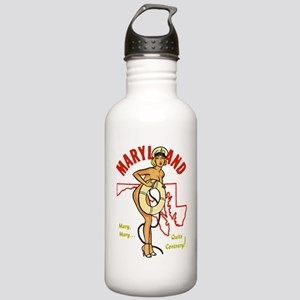 Vintage Maryland Pinup Stainless Water Bottle 1.0L