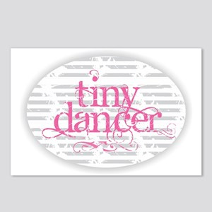 Tiny Dancer - Pink Postcards (Package of 8)