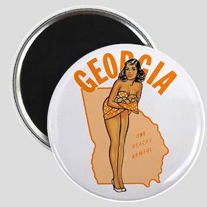 Vintage Georgia Pinup Magnet
