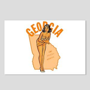 Vintage Georgia Pinup Postcards (Package of 8)