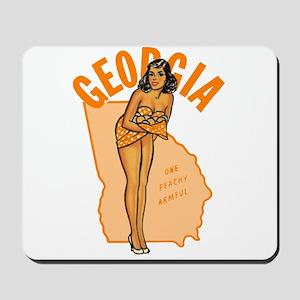 Vintage Georgia Pinup Mousepad