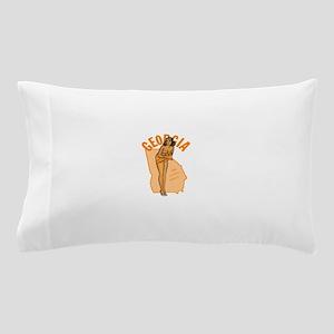 Vintage Georgia Pinup Pillow Case