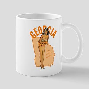 Vintage Georgia Pinup Mug