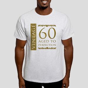 Fancy Vintage 60th Birthday Light T-Shirt