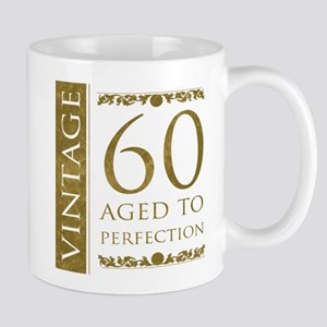 Fancy Vintage 60th Birthday Mug