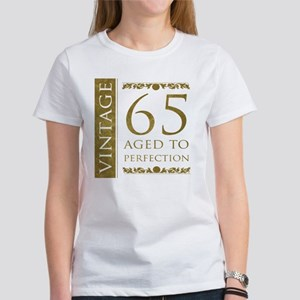Fancy Vintage 65th Birthday Womens T Shirt