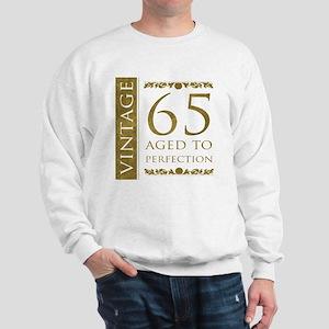 Fancy Vintage 65th Birthday Sweatshirt