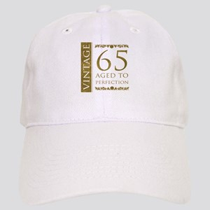 Fancy Vintage 65th Birthday Cap