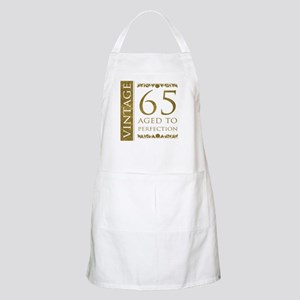 Fancy Vintage 65th Birthday Apron