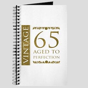 Fancy Vintage 65th Birthday Journal
