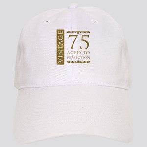 Fancy Vintage 75th Birthday Cap