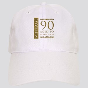 Fancy Vintage 90th Birthday Cap