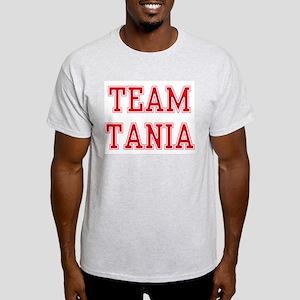 TEAM TANIA  Ash Grey T-Shirt