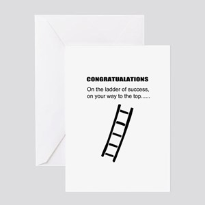 Ladder of success (cover) Greeting Card