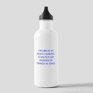procrastinate Water Bottle