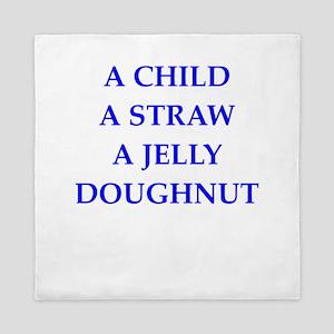 jelly doughnut Queen Duvet