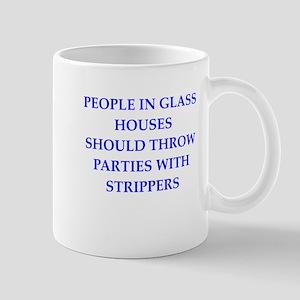 glass houses Mug