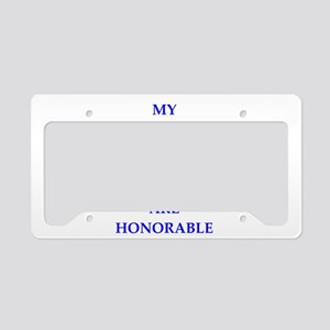 thoughts License Plate Holder
