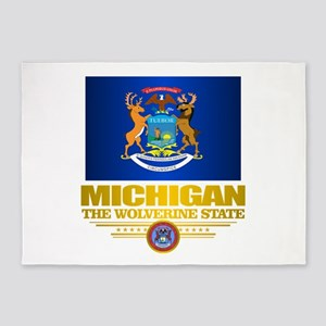 Michigan Pride 5'x7'Area Rug