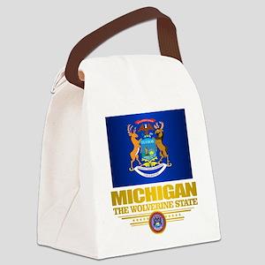 Michigan Pride Canvas Lunch Bag