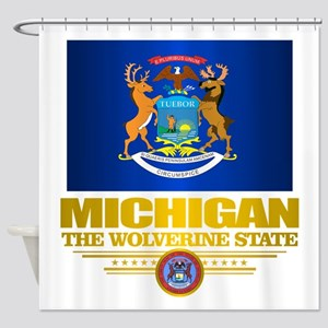 Michigan Pride Shower Curtain