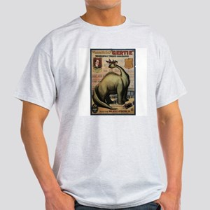 Gertie the Dinosaur Paleo Ash Grey T-Shirt