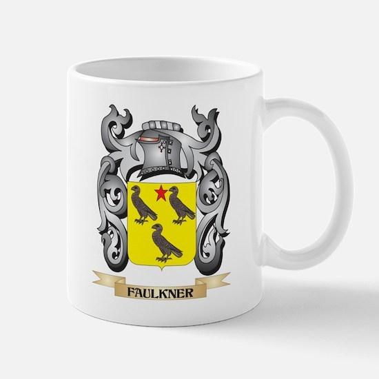 Faulkner Coat of Arms - Family Crest Mugs
