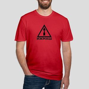IZHMASH Men's Fitted T-Shirt (Dark)