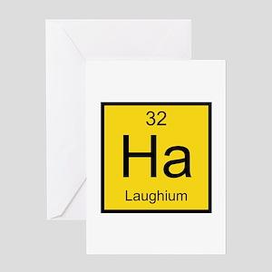 Ha Laughium Element Greeting Card