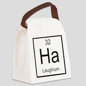 Ha Laughium Element Canvas Lunch Bag