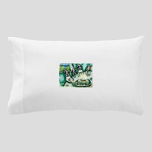 Boston Terrier birthday party Pillow Case